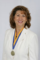 lynn with csp medal